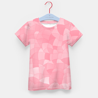 Thumbnail image of Geometric Shapes Fragments Pattern 2 pw Kid's t-shirt, Live Heroes
