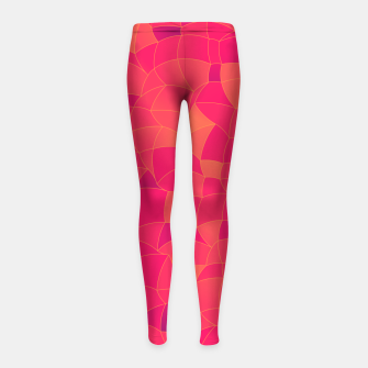 Imagen en miniatura de Geometric Shapes Fragments Pattern 2 ip3 Girl's leggings, Live Heroes