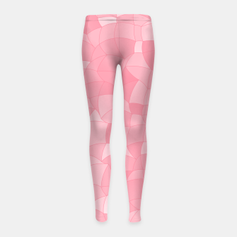 Imagen en miniatura de Geometric Shapes Fragments Pattern 2 pw Girl's leggings, Live Heroes