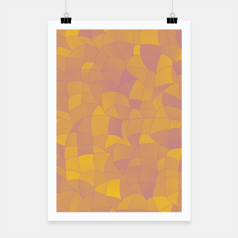 Miniatur Geometric Shapes Fragments Pattern 2 pyp2 Poster, Live Heroes