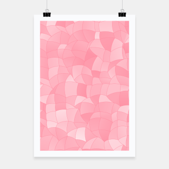 Miniatur Geometric Shapes Fragments Pattern 2 pw Poster, Live Heroes