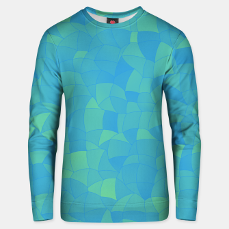 Thumbnail image of Geometric Shapes Fragments Pattern 2 pbt Unisex sweater, Live Heroes