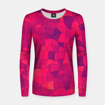 Thumbnail image of Geometric Shapes Fragments Pattern 2 ip3i Women sweater, Live Heroes