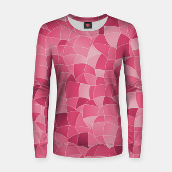 Thumbnail image of Geometric Shapes Fragments Pattern 2 ip2 Women sweater, Live Heroes