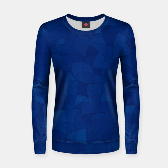 Thumbnail image of Geometric Shapes Fragments Pattern 2 db Women sweater, Live Heroes