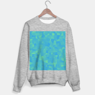 Thumbnail image of Geometric Shapes Fragments Pattern 2 pbt Sweater regular, Live Heroes