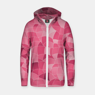 Thumbnail image of Geometric Shapes Fragments Pattern 2 ip2 Zip up hoodie, Live Heroes