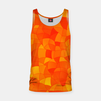 Miniaturka Geometric Shapes Fragments Pattern 2 yr Tank Top, Live Heroes