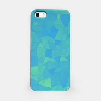 Thumbnail image of Geometric Shapes Fragments Pattern 2 pbt iPhone Case, Live Heroes