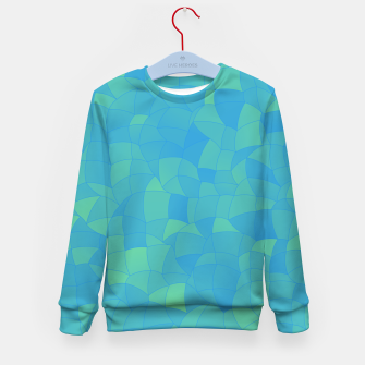 Thumbnail image of Geometric Shapes Fragments Pattern 2 pbt Kid's sweater, Live Heroes
