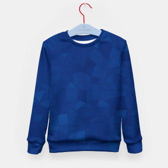 Thumbnail image of Geometric Shapes Fragments Pattern 2 db Kid's sweater, Live Heroes