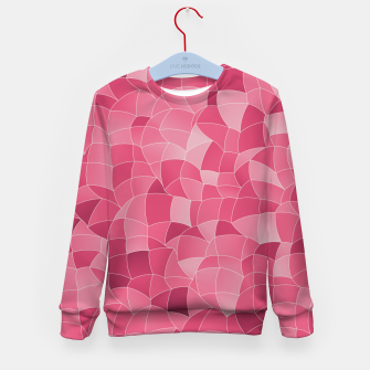 Thumbnail image of Geometric Shapes Fragments Pattern 2 ip2 Kid's sweater, Live Heroes