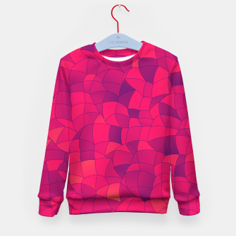 Thumbnail image of Geometric Shapes Fragments Pattern 2 ip3i Kid's sweater, Live Heroes