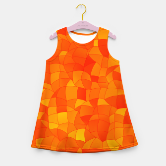 Thumbnail image of Geometric Shapes Fragments Pattern 2 yr Girl's summer dress, Live Heroes