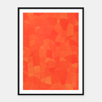 Imagen en miniatura de Geometric Shapes Fragments Pattern 2 tc Framed poster, Live Heroes