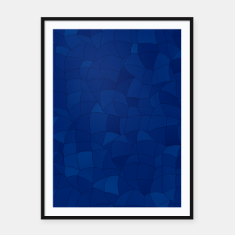 Imagen en miniatura de Geometric Shapes Fragments Pattern 2 db Framed poster, Live Heroes