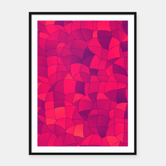 Imagen en miniatura de Geometric Shapes Fragments Pattern 2 ip3i Framed poster, Live Heroes