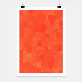 Miniatur Geometric Shapes Fragments Pattern 2 tc Poster, Live Heroes