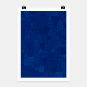 Miniatur Geometric Shapes Fragments Pattern 2 db Poster, Live Heroes