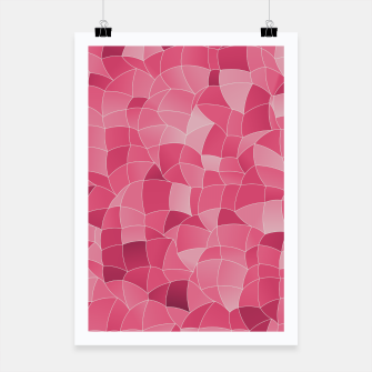 Miniatur Geometric Shapes Fragments Pattern 2 ip2 Poster, Live Heroes