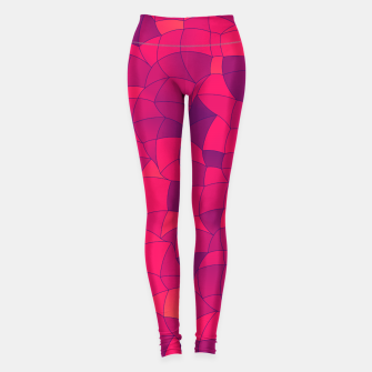 Thumbnail image of Geometric Shapes Fragments Pattern 2 ip3i Leggings, Live Heroes