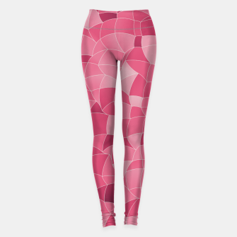Thumbnail image of Geometric Shapes Fragments Pattern 2 ip2 Leggings, Live Heroes