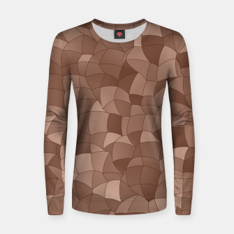 Geometric Shapes Fragments Pattern 2 cr Women sweater thumbnail image