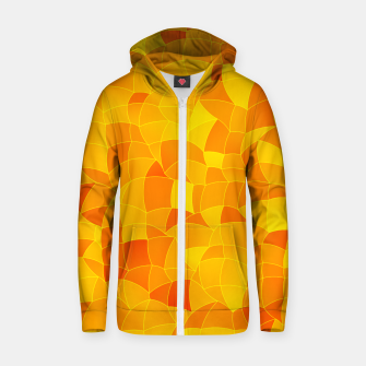Thumbnail image of Geometric Shapes Fragments Pattern 2 yri Zip up hoodie, Live Heroes