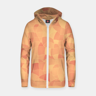 Geometric Shapes Fragments Pattern 2 po Zip up hoodie thumbnail image