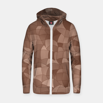 Geometric Shapes Fragments Pattern 2 cr Zip up hoodie thumbnail image