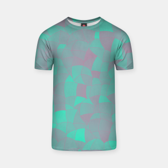 Geometric Shapes Fragments Pattern 2 tq T-shirt miniature
