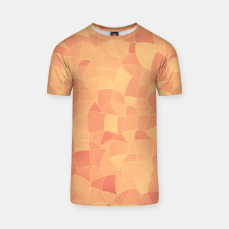Geometric Shapes Fragments Pattern 2 po T-shirt miniature