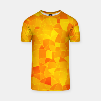 Geometric Shapes Fragments Pattern 2 yri T-shirt miniature