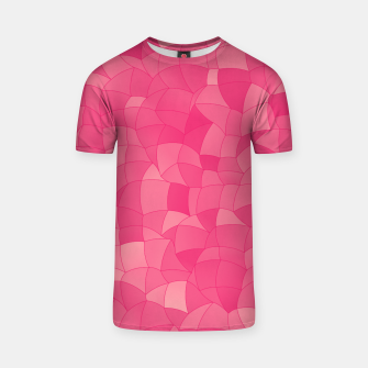 Geometric Shapes Fragments Pattern 2 pp T-shirt Bild der Miniatur
