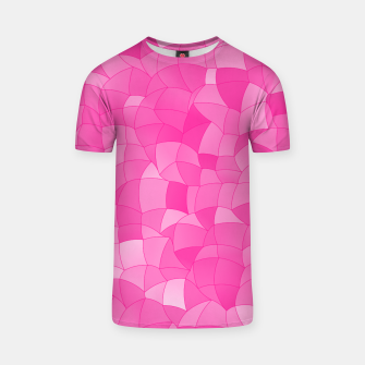 Geometric Shapes Fragments Pattern 2 mag T-shirt miniature