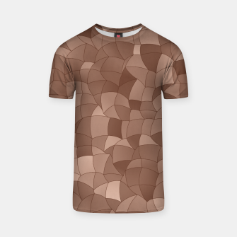Geometric Shapes Fragments Pattern 2 cr T-shirt miniature