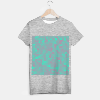 Geometric Shapes Fragments Pattern 2 tq T-shirt regular miniature