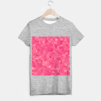 Geometric Shapes Fragments Pattern 2 pp T-shirt regular miniature