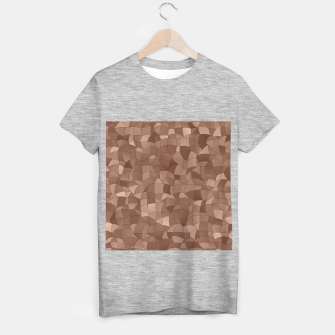 Geometric Shapes Fragments Pattern 2 cr T-shirt regular miniature