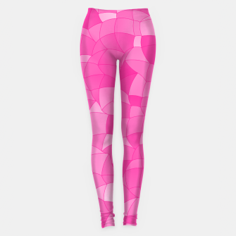 Geometric Shapes Fragments Pattern 2 mag Leggings thumbnail image