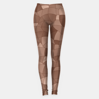 Geometric Shapes Fragments Pattern 2 cr Leggings thumbnail image