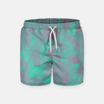 Geometric Shapes Fragments Pattern 2 tq Swim Shorts Bild der Miniatur