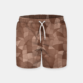 Geometric Shapes Fragments Pattern 2 cr Swim Shorts miniature