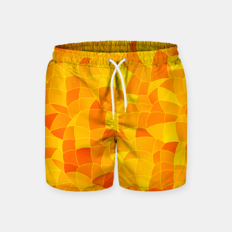 Geometric Shapes Fragments Pattern 2 yri Swim Shorts miniature