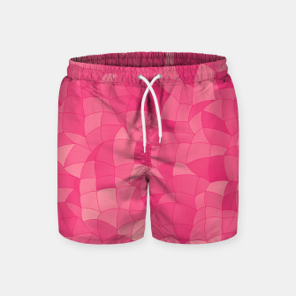 Geometric Shapes Fragments Pattern 2 pp Swim Shorts Bild der Miniatur