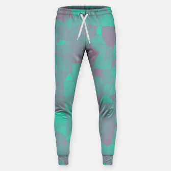 Geometric Shapes Fragments Pattern 2 tq Sweatpants thumbnail image