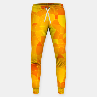 Geometric Shapes Fragments Pattern 2 yri Sweatpants miniature