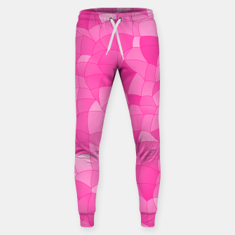 Geometric Shapes Fragments Pattern 2 mag Sweatpants miniature