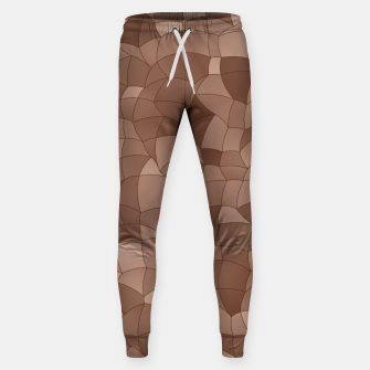 Geometric Shapes Fragments Pattern 2 cr Sweatpants miniature