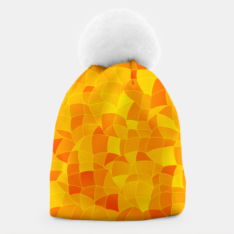 Geometric Shapes Fragments Pattern 2 yri Beanie miniature